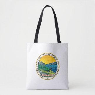 モンタナの州のシールアメリカ共和国の記号の旗 トートバッグ