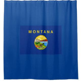 モンタナの州の旗 シャワーカーテン