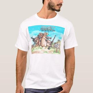 モンタナの恨み深いプレーリードッグへの歓迎 Tシャツ