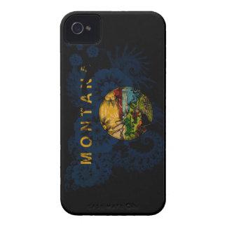 モンタナの旗 iPhone 4 Case-Mate ケース