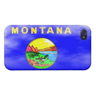 モンタナの旗 iPhone 4 COVER