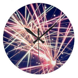 モンタナの花火の柱時計 ラージ壁時計