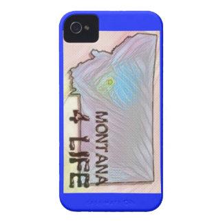 """""""モンタナ4生命""""の州の地図のプライドのデザイン Case-Mate iPhone 4 ケース"""