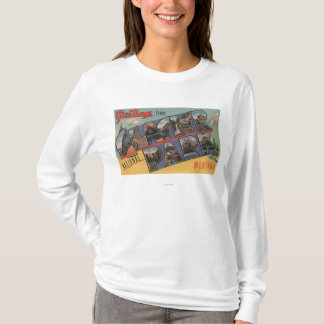 モンタナ-グレーシャー国立公園 Tシャツ
