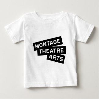 モンタージュの劇場の芸術 ベビーTシャツ