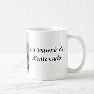 モンテカルロの記念品のマグ コーヒーマグカップ