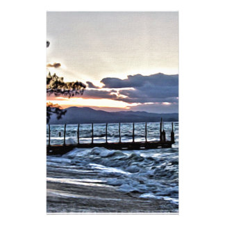 モンテゴ・ベイ、ジャマイカの美しい日没 便箋