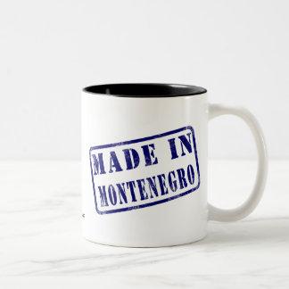 モンテネグロで作られる ツートーンマグカップ