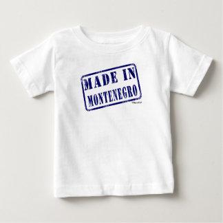 モンテネグロで作られる ベビーTシャツ