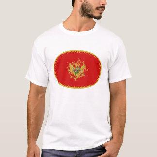 モンテネグロのすごい旗のTシャツ Tシャツ