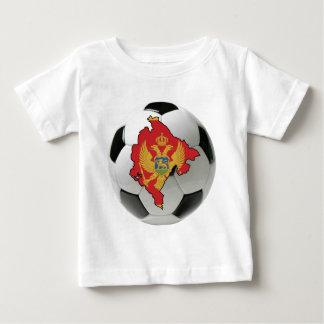 モンテネグロの全国代表チーム ベビーTシャツ