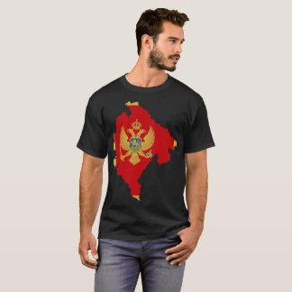 モンテネグロの国家のTシャツ Tシャツ