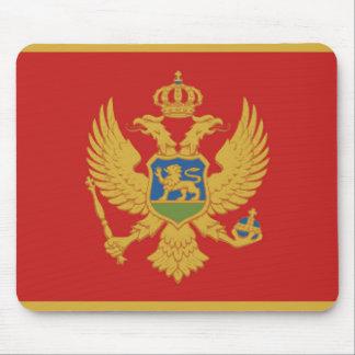 モンテネグロの国旗の国家の記号 マウスパッド
