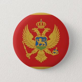 モンテネグロの国旗の国家の記号 缶バッジ