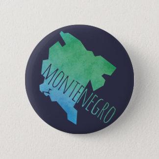 モンテネグロの地図 缶バッジ