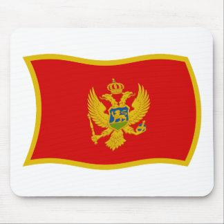 モンテネグロの旗のマウスパッド マウスパッド