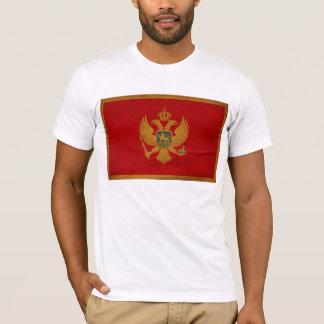モンテネグロの旗のTシャツ Tシャツ
