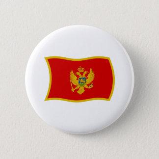 モンテネグロの旗ボタン 缶バッジ