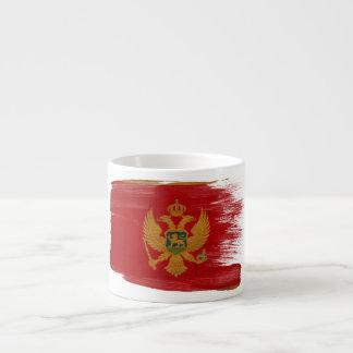 モンテネグロの旗 エスプレッソカップ