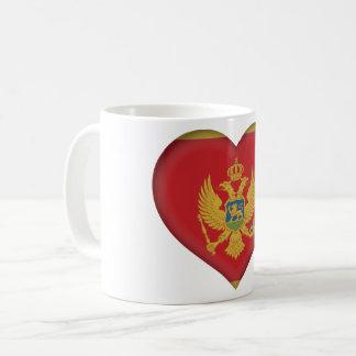 モンテネグロの旗 コーヒーマグカップ