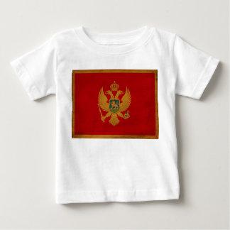 モンテネグロの旗 ベビーTシャツ