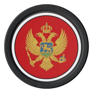 モンテネグロの旗 ポーカーチップ