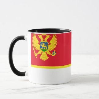 モンテネグロの旗 マグカップ