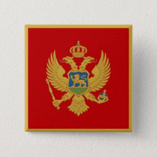 モンテネグロの旗 缶バッジ