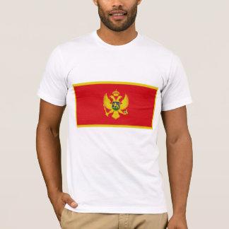 モンテネグロの旗 Tシャツ