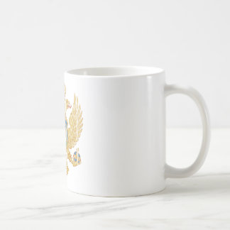 モンテネグロの紋章付き外衣 コーヒーマグカップ