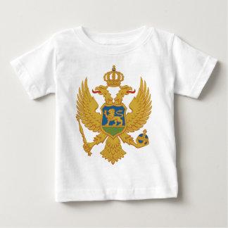 モンテネグロの紋章付き外衣 ベビーTシャツ