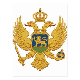 モンテネグロの紋章付き外衣 ポストカード