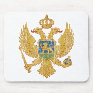 モンテネグロの紋章付き外衣 マウスパッド