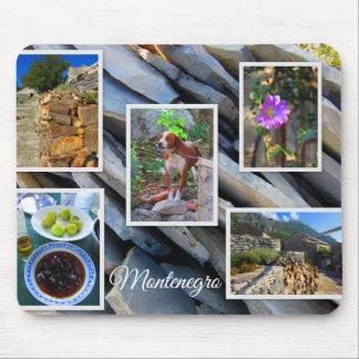 モンテネグロ旅行コレクション マウスパッド