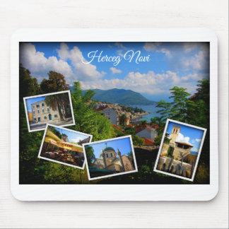 モンテネグロ旅行コレクション- Herceg Novi マウスパッド