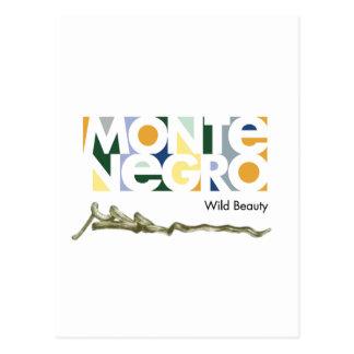 モンテネグロ、Crna Gora ポストカード