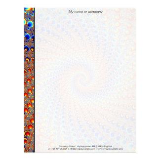 モンテレーのフラクタルの芸術 レターヘッド