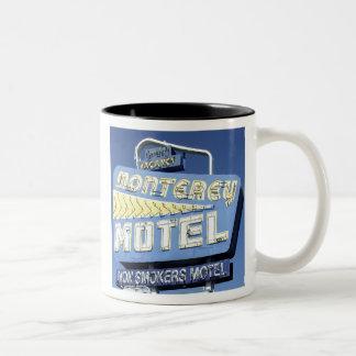 モンテレーのモーテル-マグ ツートーンマグカップ