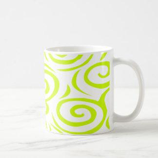 モンテレーの渦巻のマグライム コーヒーマグカップ