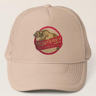 モンテレーカリフォルニアのヴィンテージくまの帽子 キャップ