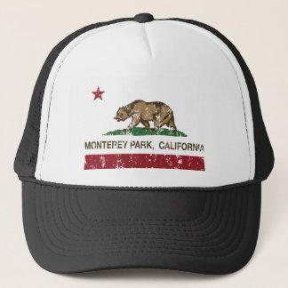 モンテレー公園カリフォルニア旗 キャップ