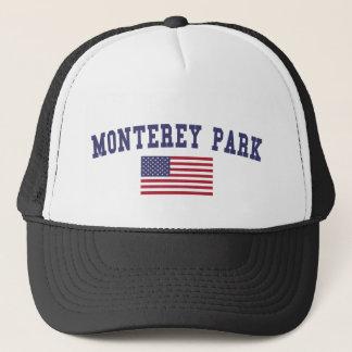 モンテレー公園米国の旗 キャップ