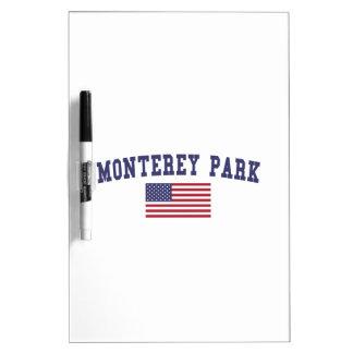モンテレー公園米国の旗 ホワイトボード