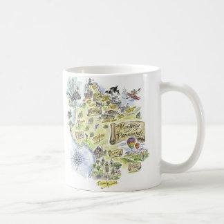 モンテレー湾のコーヒー・マグ コーヒーマグカップ