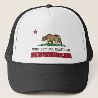 モンテレー湾カリフォルニア州の旗 キャップ