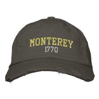 モンテレー1770年 刺繍入りキャップ