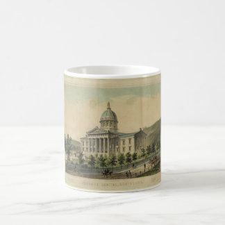 モントピーリアを造るヴァーモントの国会議事堂 コーヒーマグカップ