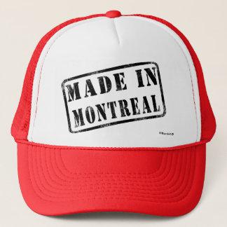 モントリオールで作られる キャップ