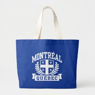モントリオールケベック ラージトートバッグ