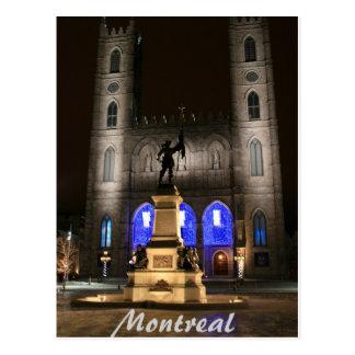 モントリオールNotre Dameのバシリカ会堂 ポストカード